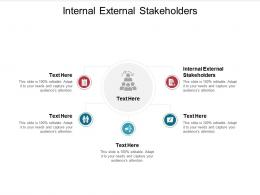Internal External Stakeholders Ppt Powerpoint Presentation Show Slide Download Cpb