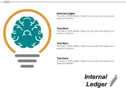 Internal Ledger Ppt Powerpoint Presentation Icon Professional Cpb