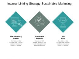 Internal Linking Strategy Sustainable Marketing Manage Sales Activity Cpb