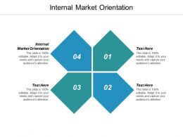 Internal Market Orientation Ppt Powerpoint Presentation Ideas Clipart Images Cpb