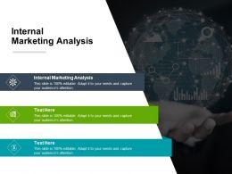 Internal Marketing Analysis Ppt Powerpoint Presentation Inspiration Ideas Cpb