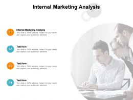 Internal Marketing Analysis Ppt Powerpoint Presentation Summary Microsoft Cpb