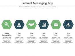 Internal Messaging App Ppt Powerpoint Presentation Ideas Inspiration Cpb