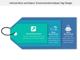 Internal Micro And Macro Environmental Analysis Tag Design