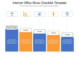 Internal Office Move Checklist Template Ppt Powerpoint Visuals Cpb