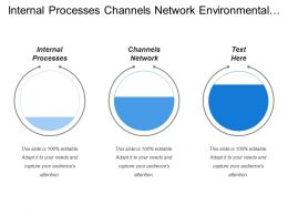 Internal Processes Channels Network Environmental Awareness Productivity Improvement