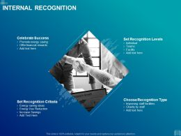 Internal Recognition Ppt Powerpoint Presentation Gallery Slide