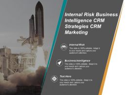 Internal Risk Business Intelligence Crm Strategies Crm Marketing Cpb