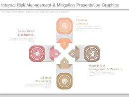 Internal Risk Management And Mitigation Presentation Graphics