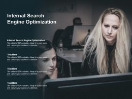 Internal Search Engine Optimization Ppt Powerpoint Presentation Show Sample Cpb