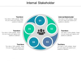 Internal Stakeholder Ppt Powerpoint Presentation Infographics Icon Cpb