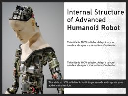 Internal Structure Of Advanced Humanoid Robot
