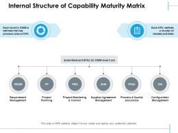 Internal Structure Of Capability Maturity Matrix
