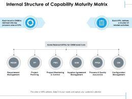 Internal Structure Of Capability Maturity Matrix