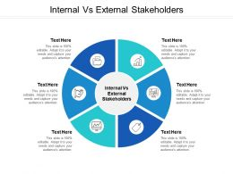 Internal Vs External Stakeholders Ppt Powerpoint Presentation Gallery Ideas Cpb