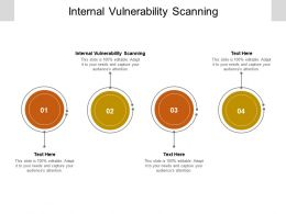 Internal Vulnerability Scanning Ppt Powerpoint Presentation Portfolio Guidelines Cpb