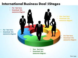 International Business Deal 5 Stages Powerpoint Templates ppt presentation slides 812