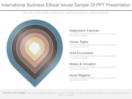 International Business Ethical Issues Sample Of Ppt Presentation