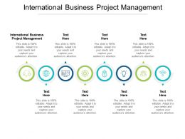 International Business Project Management Ppt Powerpoint Presentation Aids Cpb