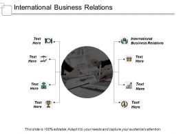 International Business Relations Ppt Slides Portfolio Cpb