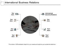 International Business Relations Ppt Slides Portfolio Cpb