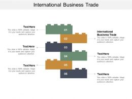 International Business Trade Ppt Powerpoint Presentation Icon Grid Cpb