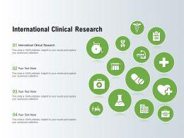 International Clinical Research Ppt Powerpoint Presentation Ideas Portrait