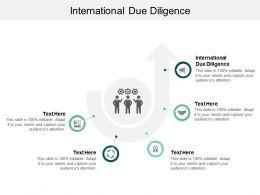 International Due Diligence Ppt Powerpoint Presentation Slides Background Cpb
