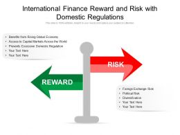 International Finance Reward And Risk With Domestic Regulations