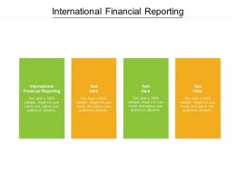 International Financial Reporting Ppt Powerpoint Presentation Infographic Template Summary Cpb