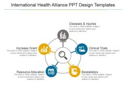 International Health Alliance Ppt Design Templates