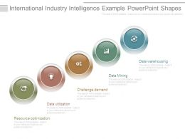 International Industry Intelligence Example Powerpoint Shapes