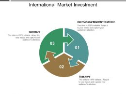 International Market Investment Ppt Powerpoint Presentation Pictures Infographics Cpb
