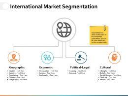 International Market Segmentation Ppt Powerpoint Presentation File Slide Download