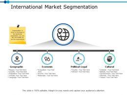International Market Segmentation Ppt Powerpoint Presentation Gallery Pictures