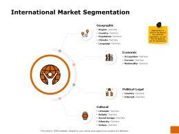 International Market Segmentation Ppt Powerpoint Presentation Icon Ideas
