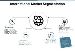 International Market Segmentation Ppt Powerpoint Presentation Infographic Template
