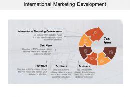 International Marketing Development Ppt Powerpoint Presentation Icon Design Ideas Cpb