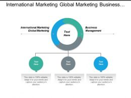 International Marketing Global Marketing Business Management Crisis Management Cpb
