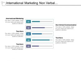 International Marketing Non Verbal Communication Lead Network Marketing Cpb