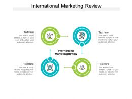 International Marketing Review Ppt Powerpoint Presentation Infographic Cpb