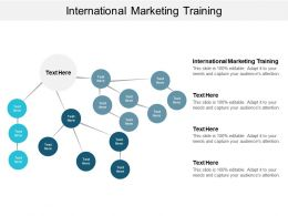 International Marketing Training Ppt Powerpoint Presentation Icon Demonstration Cpb