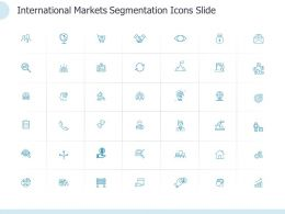 International Markets Segmentation Icons Slide L1177 Ppt Slides