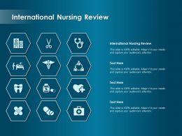 International Nursing Review Ppt Powerpoint Presentation Infographics Templates
