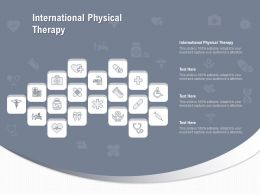 International Physical Therapy Ppt Powerpoint Presentation Model Infographic Template