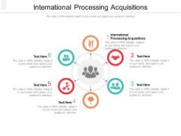 International Processing Acquisitions Ppt Powerpoint Presentation Summary Icon Cpb