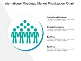 International Roadmap Market Prioritization Omni Channel Market Entry