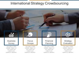International Strategy Crowdsourcing Ppt Diagrams