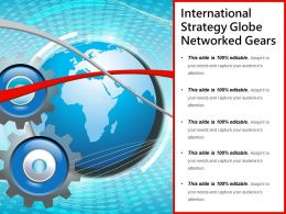 International Strategy Globe Networked Gears