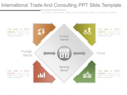 International Trade And Consulting Ppt Slide Template